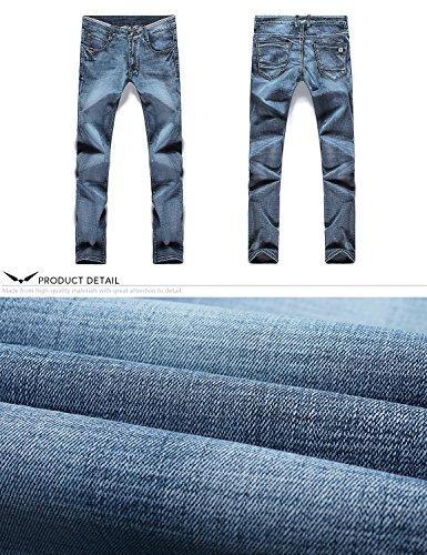 Straight Demon Recto Azul Jeans Pantalones Vaqueros Series amp;Hunter Hombre Dh8315 X 817 ppqHEw7f