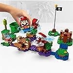 LEGO-Super-Mario-La-Sfida-Rompicapo-della-Pianta-Piranha-Pack-di-Espansione-Playset-da-Collezione-con-Koopistrice-71382