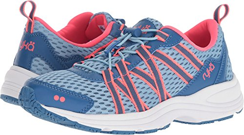 Ryka Women's Aqua Sport Light Blue/Blue/Coral 9 B US