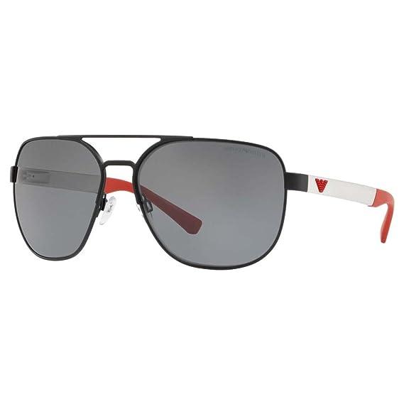 Emporio Armani 322381 Gafas de sol Matte Black 62 para ...