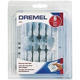 Dremel 692 6-Piece Router Bit Set