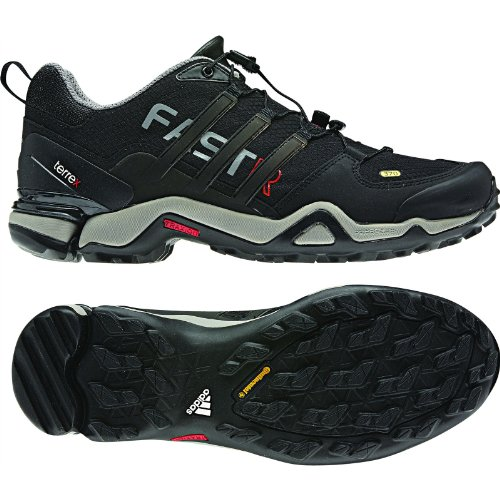 Adidas Heren Terrex Fast R Shoe Zwart / Zwart / Core Energy