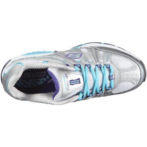 Ups a Argent tr tonifiantes Kinetix 4 femme Argent Response Skechers 4 Shape Chaussures 50vqv1x