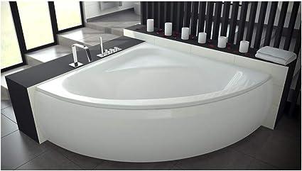 Azura Home Design Baignoire D Angle Venezia 148x148 Cm Avec Tablier Amazon Fr Cuisine Maison
