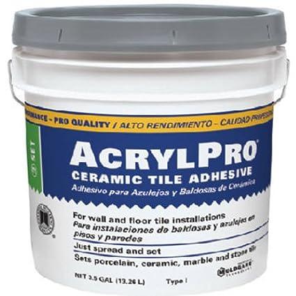 Amazoncom CUSTOM BLDG PRODUCTS ARL Cera Tile Adhesive - Acrylic pro ceramic tile adhesive