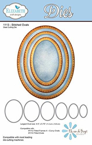 gns Elizabeth Craft Metal Die-Stitched Ovals ()