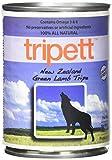 Tripett New Zealand Green Lamb Tripe Dog Food, 13 oz cans by Tripett