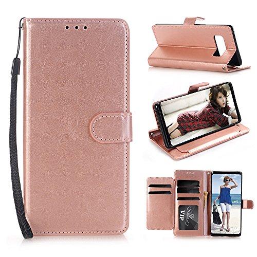 Galaxy S8 Plus Case, SUMOON Luxury Fashion PU Leather Magnet