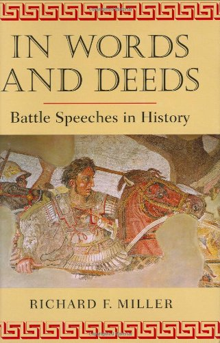 Read Online In Words and Deeds: Battle Speeches in History ePub fb2 book
