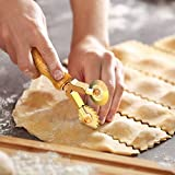 Professional Pasta Cutter Wheel, Timeless Natural
