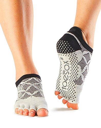 Toesox Half Toe Low Rise Grip Socks Fresca BFe9wpZHU0