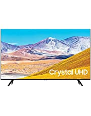 """$549 » SAMSUNG UN55TU8000 55"""" 4K Ultra HD Smart LED TV (2020 Model) Bundle with Premiere Movies Streaming 2020 + 30-70 Inch TV Wall Mount + 6-Outlet Surge Adapter + 2X 6FT 4K HDMI 2.0 Cable"""