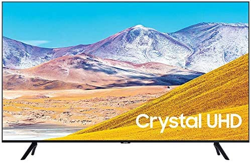 "SAMSUNG UN50TU8000 50"" 4K Ultra HD Smart LED TV (2020 Model) Bundle with Premiere Movies Streaming 2020 + 30-70 Inch TV Wall Mount + 6-Outlet Surge Adapter + 2X 6FT 4K HDMI 2.0 Cable"