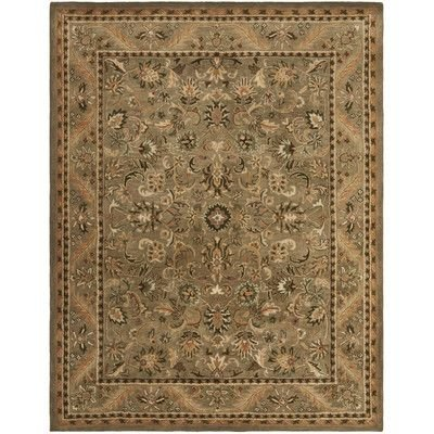 Traditional Rug - Antiquity Wool Pile -Olive/Gold Olive/Gold/Traditional/9'6