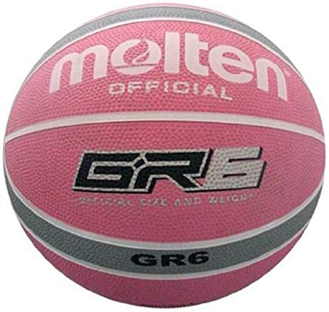 MOLTEN BGR6-WPS - Balón de baloncesto, color rosa: Amazon.es ...