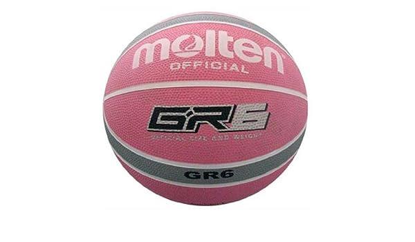 MOLTEN BGR6-WPS - Balón de baloncesto, color rosa: Amazon.es ...