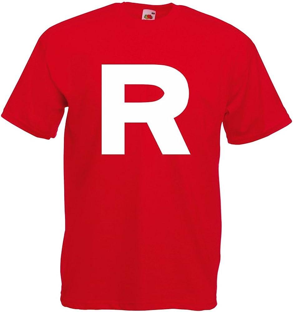 Print Wear Clothing Team Rocket Pokemon Jessie James Inspirert Homme Imprim/é T-Shirt
