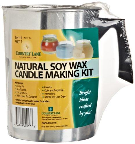 Country Lane – Candle Making Kit – Palm Candle Kit