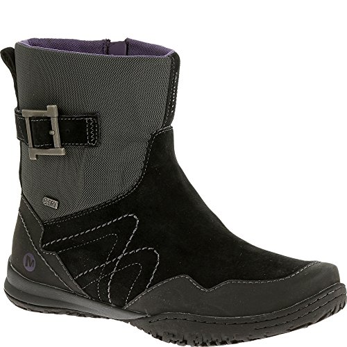 Merrell Women's Albany Sky Waterproof Mid Boot, Black, 5 M US