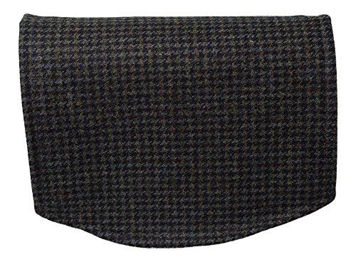 Harris Tweed Single Chairback 100% Pure New Wool Sofa Settee Furniture Cover (Irish Houndstooth)
