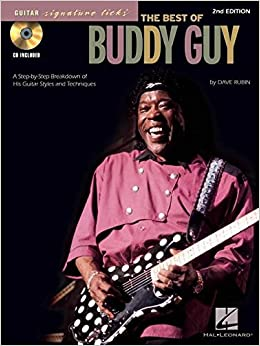 Signature Licks The Best Of Buddy Guy Guitar Tab Book/Cd (Guitar Signature Licks)