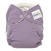 GroVia Newborn All in One Cloth Diaper (AIO) (Haze)