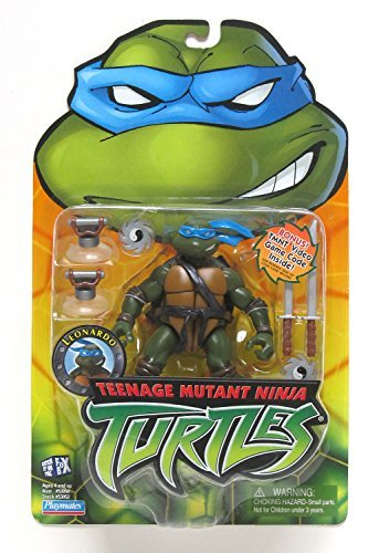 Teenage Mutant Ninja Turtles 2003 Toys : Teenage mutant ninja turtles action figure leonardo buy