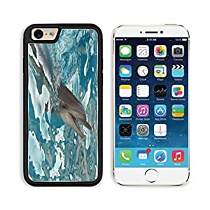 Cute dolphin Foraging swimming sea Mogo Outlet iPhone 6 Cover Premium Aluminium Design TPU Case Open Ports Customized Made to Order by lolosakes