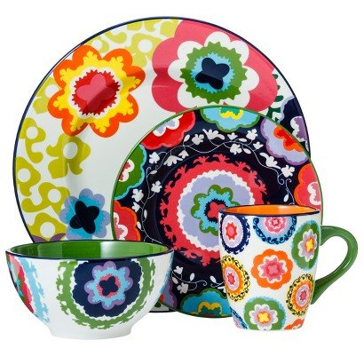 Oui by French Bull 4-piece Dinnerware Set