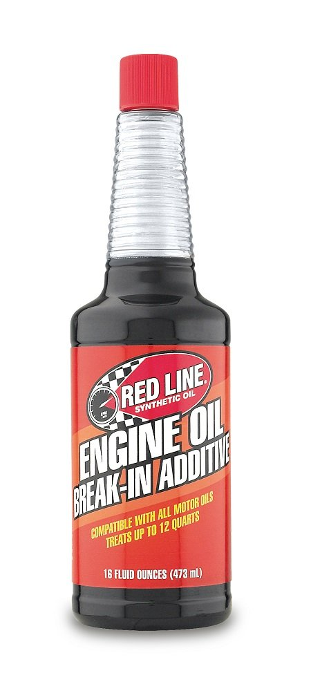 Red Line 81403 Break-in Oil Additive with Zinc - 16 oz. RED81403