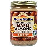 Maranatha 20132 Maranatha Maple Raw Almond Butter - 12x12 OZ
