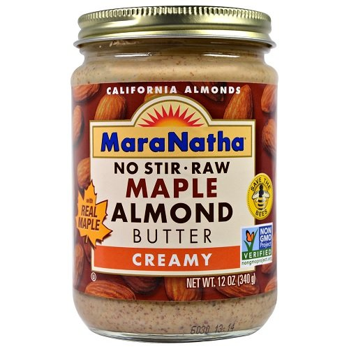 Maranatha Creamy Raw Maple Almond Butter, 12 oz