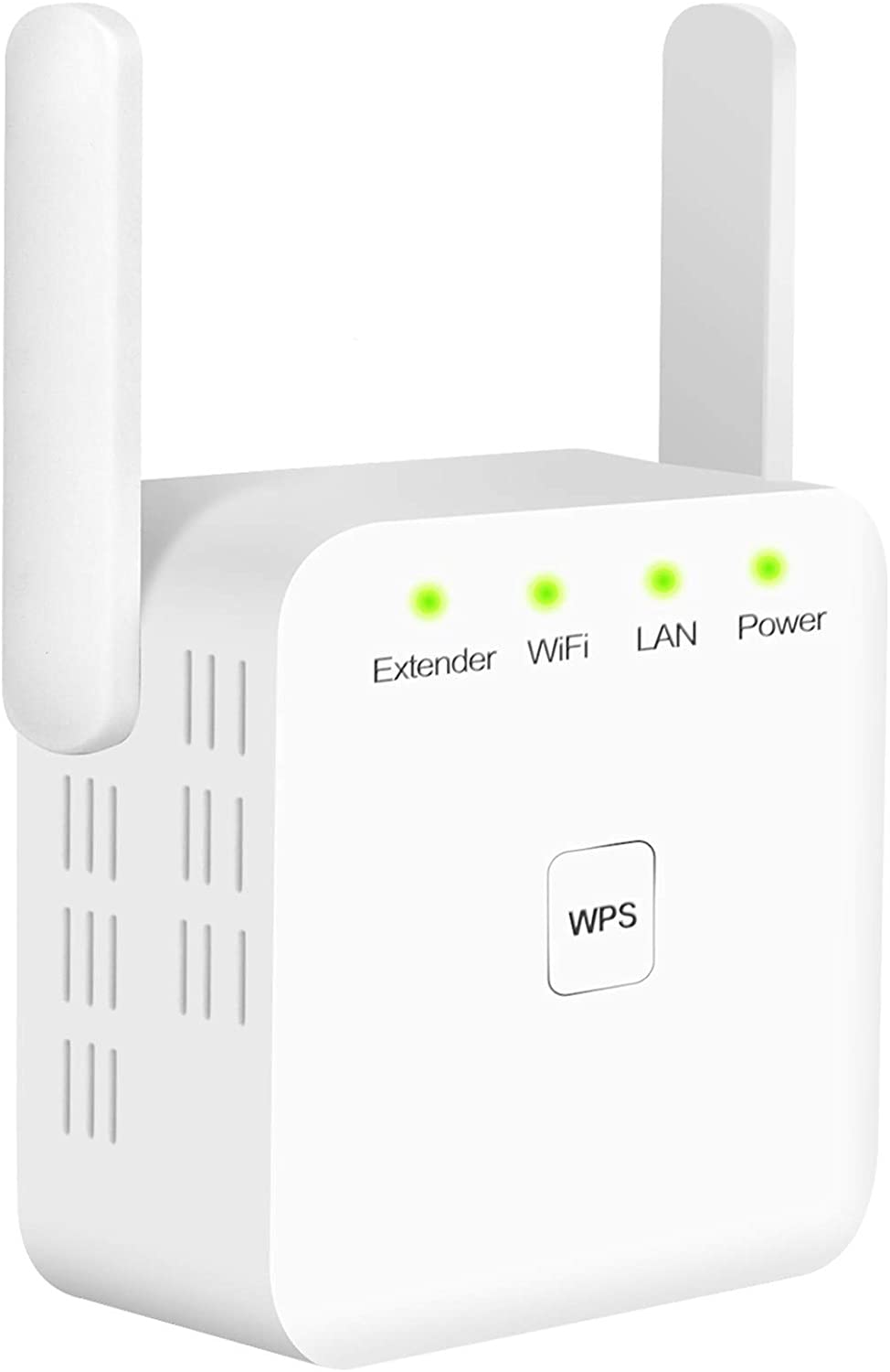 White Extend WiFi Signal to Smart Home /& Alexa Devices 300Mbps Wireless Signal Repeater Booster WiFi Range Extender 2 Advanced Antennas 360/° Full Coverage WPS/&One-Click Setting