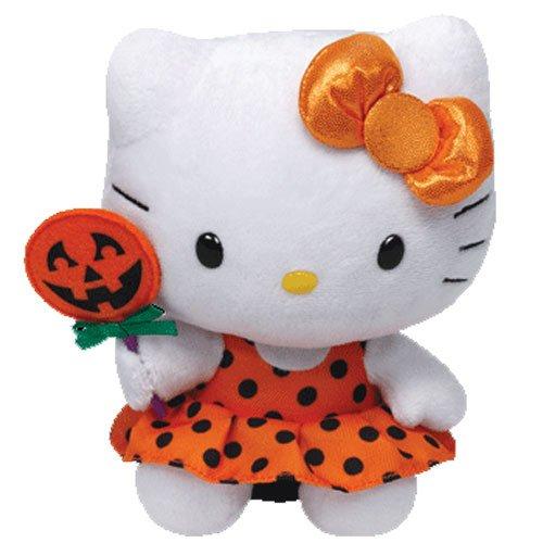 Ty Hello Kitty - Orange Halloween Dress]()