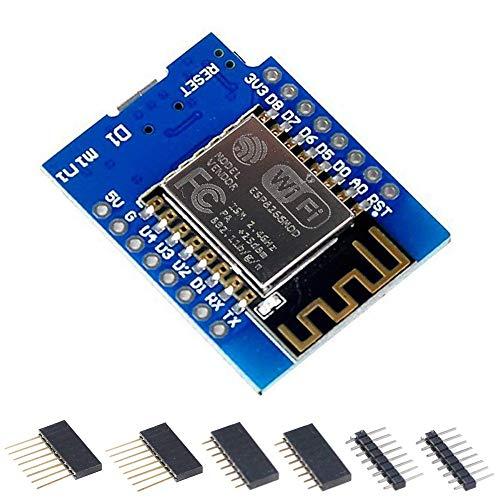 2pcs ESP8266 Serial WIFI Module Adapter Platine Plate Board ESP-07 ESP-08 ESP-12