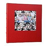 5x7 hard custom cover photo book - Xerhnan Leather Frame Cover Photo Album 600 Pockets Hold 4x6 Photos.Color: Red.