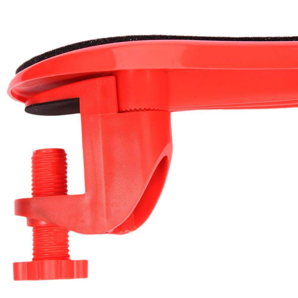 Mano spalla proteggere braccioli ergonomici resto attaccabile scrivania computer tavolo braccio supporto mouse pad WRIST Rests sedia regolabile per tavolo Red