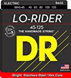 DR Strings Lo-Rider - Stainless Steel Hex Core 5 String Bass 45-125