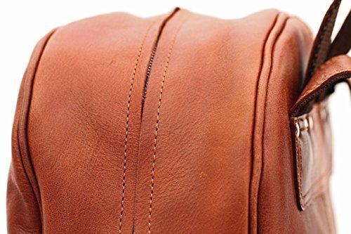 R cuir vintage PAUL pour sac LE dos B école style à B MARIOL MARIUS en loisirs Naturel xn4ZtW