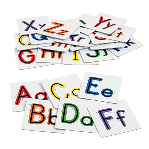 (Fun Express - Sensory Letters - Educational - Teaching Aids - Language Arts - 26 Pieces)