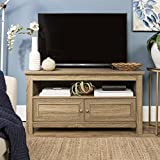WE Furniture 44″ Cortez TV Stand Console, Driftwood