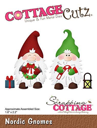 (CottageCutz CC504 Dies-Nordic Gnomes 1.6