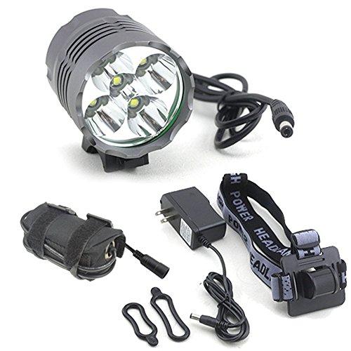 7000 Lumen 5x Cree XML T6 LED MTB Cycling Bicycle Bike Light Headlight Headlamp Head Light Lamp Torch Waterproof 4x 18650 Battery