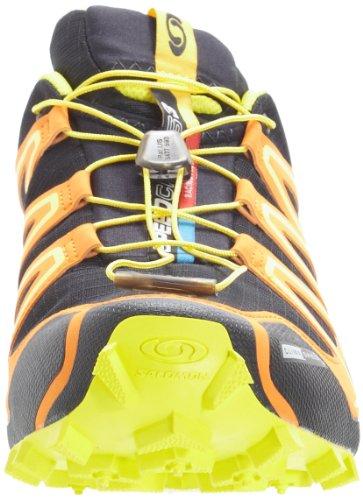Salomon Speedcross 3 Cs - Zapatillas de running de Material Sintético para hombre Negro/Amarillo
