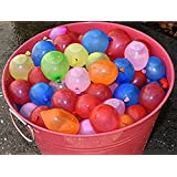 Beautymei Water Balloon Kits,Random Color in Each Bunch, Latex Water Bomb Balloons Fight Games, Summer Splash Fun for Kids & Adults