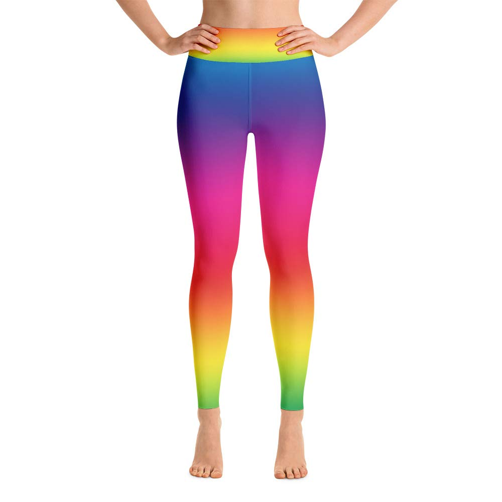 Rainbow Leggings Women (Medium)