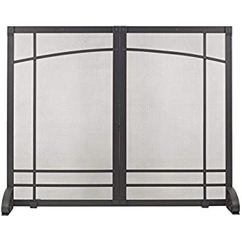 Amazon Com Plow Amp Hearth Large Fireplace Screen With