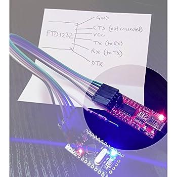 Makerfocus Ft232rl Ftdi Usb To Ttl Serial Adapter 3.3v 5.5v Module Mini Port For Arduino Mini Port 3