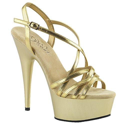 Sandalette Pleaser DELIGHT Damen Plateau 613 xUIqUXznw0