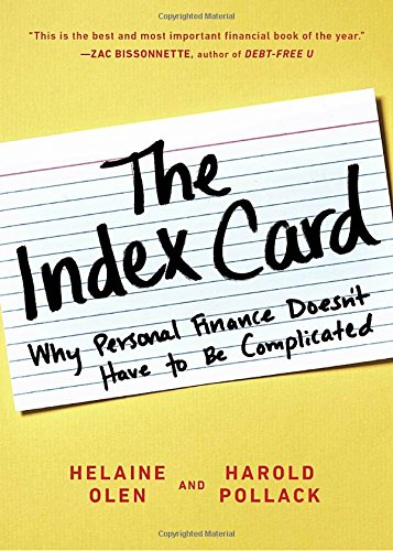The Index Card: Why Personal Finance Doesn't Have to Be Complicated cover